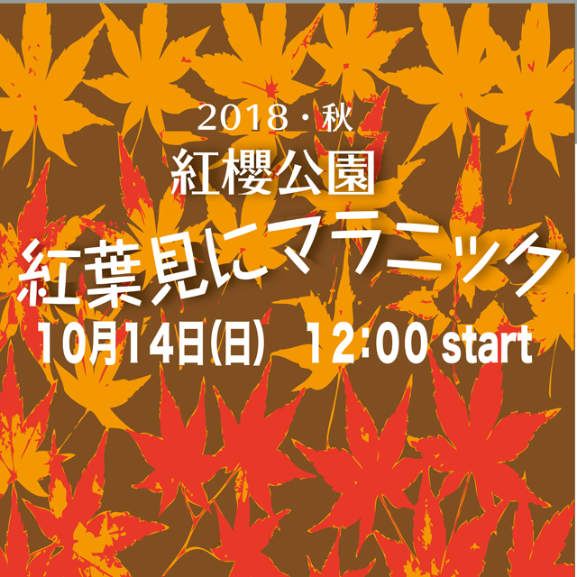 2018年10月14日(日)紅葉見にマラニック開